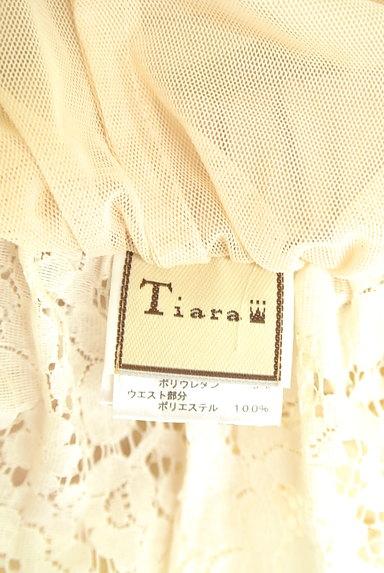 Tiara(ティアラ)の古着「総レースフレアスカート(スカート)」大画像6へ