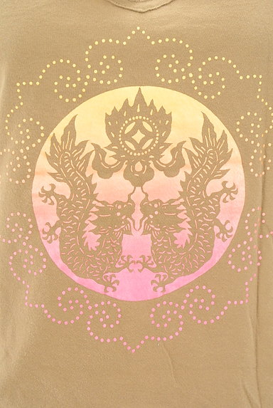 VIVIENNE TAM(ヴィヴィアンタム)の古着「カットオフプリントTシャツ(Tシャツ)」大画像5へ