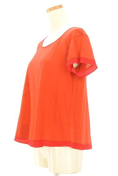 VIVIENNE TAM(ヴィヴィアンタム)の古着「裾アクセントカットソー(カットソー・プルオーバー)」大画像3へ