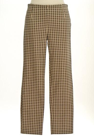 TABASA(タバサ)の古着「チェック柄ストレートパンツ(パンツ)」大画像1へ