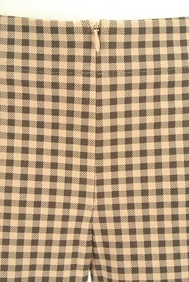 TABASA(タバサ)の古着「チェック柄ストレートパンツ(パンツ)」大画像4へ