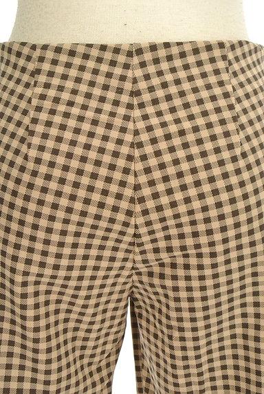 TABASA(タバサ)の古着「チェック柄ストレートパンツ(パンツ)」大画像5へ