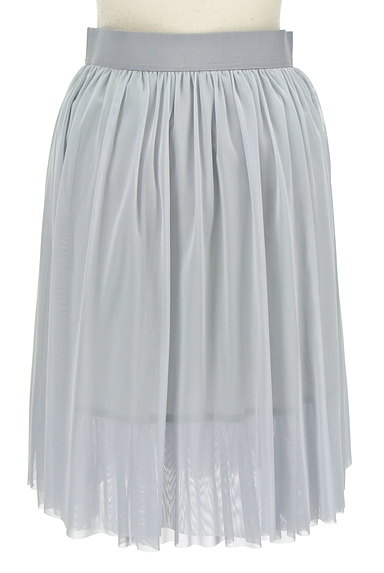 TABASA(タバサ)の古着「ミディ丈チュールフレアスカート(スカート)」大画像2へ