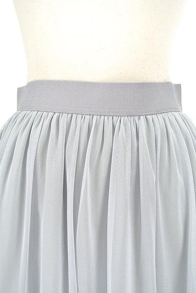 TABASA(タバサ)の古着「ミディ丈チュールフレアスカート(スカート)」大画像4へ