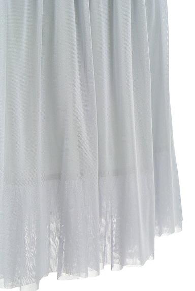 TABASA(タバサ)の古着「ミディ丈チュールフレアスカート(スカート)」大画像5へ