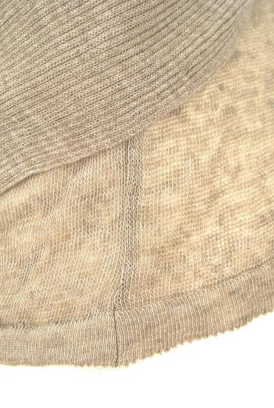 TABASA(タバサ)の古着「ドレープリネンニット(ニット)」大画像5へ