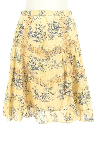 TABASA(タバサ)の古着「刺繍+総柄フレアスカート(スカート)」大画像2へ