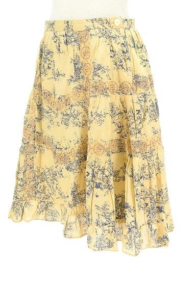 TABASA(タバサ)の古着「刺繍+総柄フレアスカート(スカート)」大画像3へ