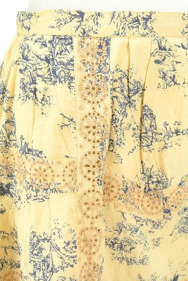 TABASA(タバサ)の古着「刺繍+総柄フレアスカート(スカート)」大画像5へ