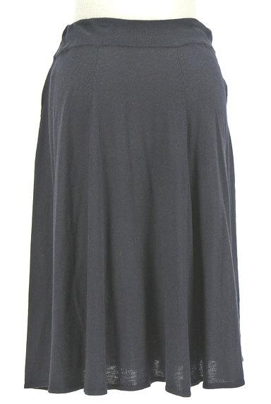 HUMAN WOMAN(ヒューマンウーマン)の古着「膝下丈ニットフレアスカート(スカート)」大画像2へ