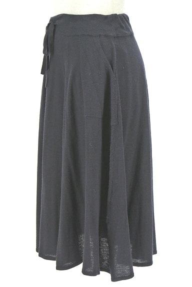 HUMAN WOMAN(ヒューマンウーマン)の古着「膝下丈ニットフレアスカート(スカート)」大画像3へ