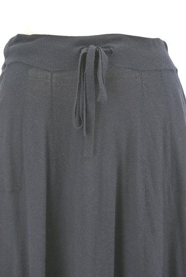 HUMAN WOMAN(ヒューマンウーマン)の古着「膝下丈ニットフレアスカート(スカート)」大画像4へ