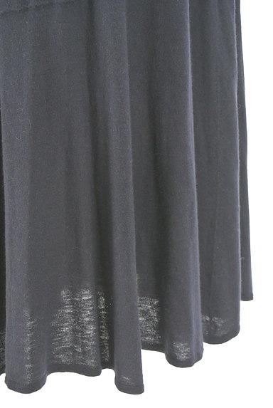 HUMAN WOMAN(ヒューマンウーマン)の古着「膝下丈ニットフレアスカート(スカート)」大画像5へ