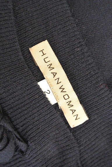 HUMAN WOMAN(ヒューマンウーマン)の古着「膝下丈ニットフレアスカート(スカート)」大画像6へ