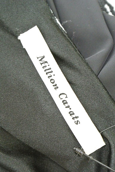 MILLION CARATS(ミリオンカラッツ)の古着「千鳥格子柄ペプラムワンピース(ワンピース・チュニック)」大画像6へ