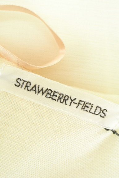 STRAWBERRY-FIELDS(ストロベリーフィールズ)の古着「裾刺繍フレアシフォンニット(カットソー・プルオーバー)」大画像6へ