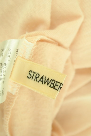 STRAWBERRY-FIELDS(ストロベリーフィールズ)の古着「フレアスリーブシフォンブラウス(カットソー・プルオーバー)」大画像6へ