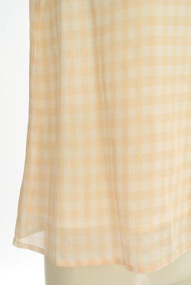 STRAWBERRY-FIELDS(ストロベリーフィールズ)の古着「フレアスリーブシフォンブラウス(カットソー・プルオーバー)」大画像5へ