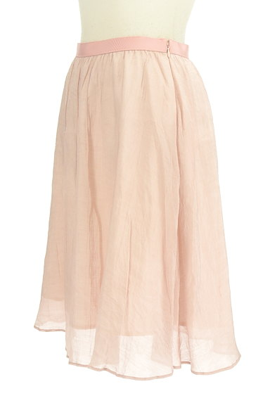 PROPORTION BODY DRESSING(プロポーションボディ ドレッシング)の古着「ミディ丈オーガンジーフレアスカート(スカート)」大画像3へ