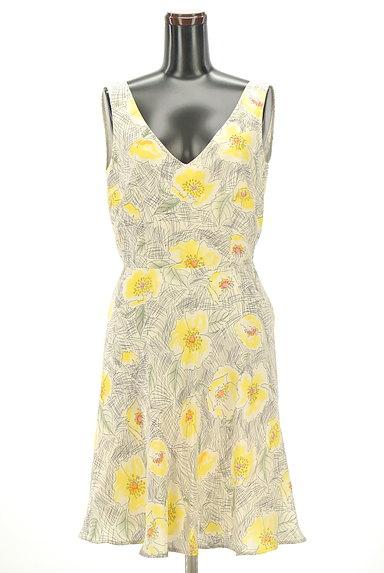 MAX&Co.(マックス&コー)の古着「花柄シルクワンピース(キャミワンピース)」大画像1へ