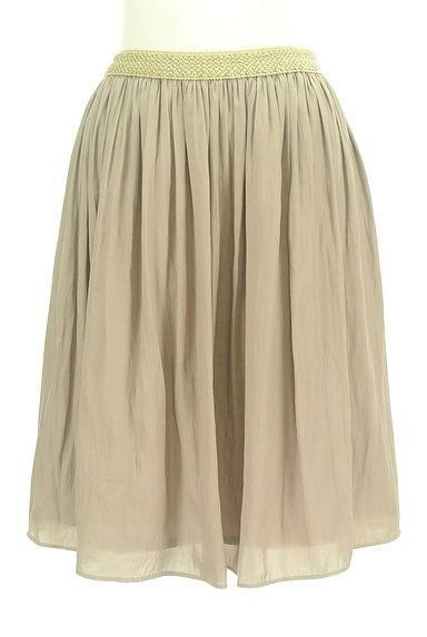 SunaUna(スーナウーナ)の古着「ラメウエストミディ丈フレアスカート(スカート)」大画像1へ