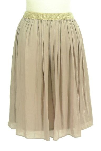 SunaUna(スーナウーナ)の古着「ラメウエストミディ丈フレアスカート(スカート)」大画像2へ