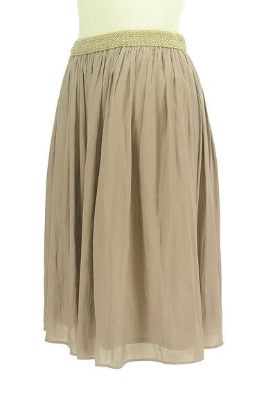 SunaUna(スーナウーナ)の古着「ラメウエストミディ丈フレアスカート(スカート)」大画像3へ