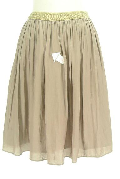 SunaUna(スーナウーナ)の古着「ラメウエストミディ丈フレアスカート(スカート)」大画像4へ