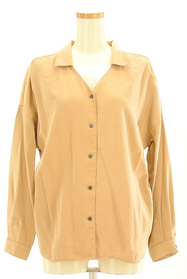 BARNYARDSTORM(バンヤードストーム)の古着「オープンカラールーズシャツ(カジュアルシャツ)」大画像1へ