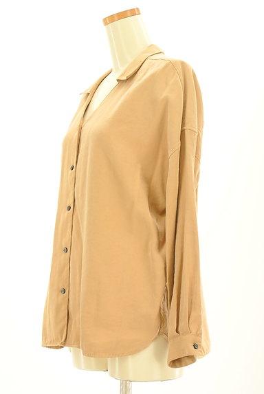 BARNYARDSTORM(バンヤードストーム)の古着「オープンカラールーズシャツ(カジュアルシャツ)」大画像3へ