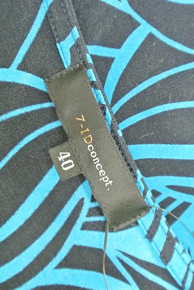 7-ID concept(セブンアイディーコンセプト)の古着「花柄ティアードフリルカットソー(カットソー・プルオーバー)」大画像6へ