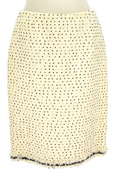 TO BE CHIC(トゥービーシック)の古着「ドットツイードタイトスカート(スカート)」大画像1へ