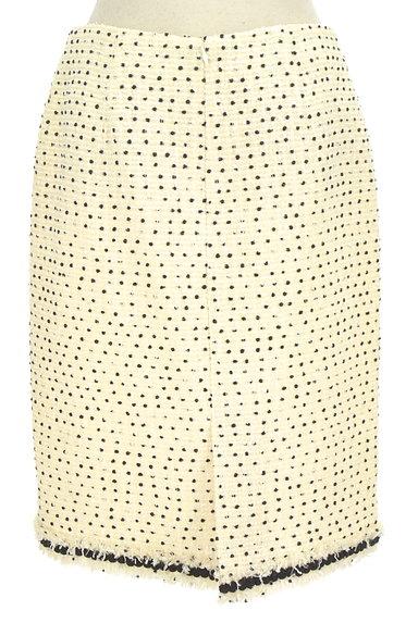 TO BE CHIC(トゥービーシック)の古着「ドットツイードタイトスカート(スカート)」大画像2へ