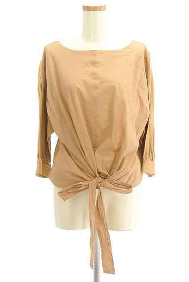 7-ID concept(セブンアイディーコンセプト)の古着「裾リボンカットソー(カットソー・プルオーバー)」大画像1へ