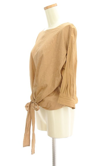 7-ID concept(セブンアイディーコンセプト)の古着「裾リボンカットソー(カットソー・プルオーバー)」大画像3へ