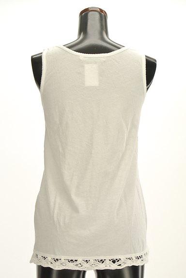 CUBE SUGAR(キューブシュガー)の古着「裾レースロングタンクトップ(キャミソール・タンクトップ)」大画像2へ