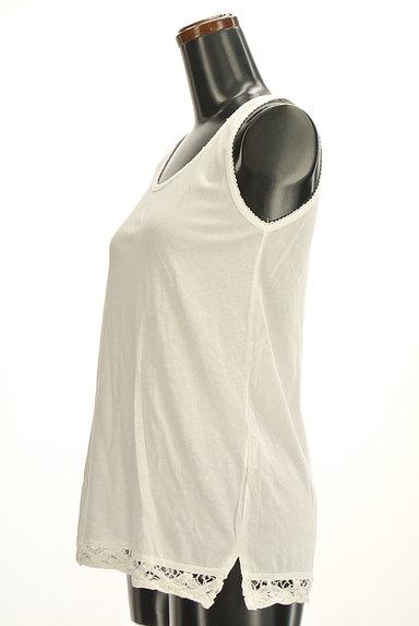 CUBE SUGAR(キューブシュガー)の古着「裾レースロングタンクトップ(キャミソール・タンクトップ)」大画像3へ