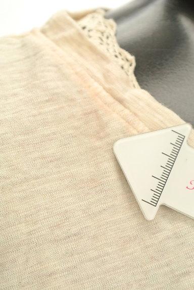 CUBE SUGAR(キューブシュガー)の古着「レースアクセントカットソー(Tシャツ)」大画像5へ