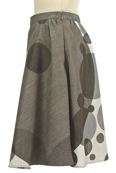 LAUTREAMONT(ロートレアモン)の古着「ドット柄膝丈フレアスカート(スカート)」大画像3へ
