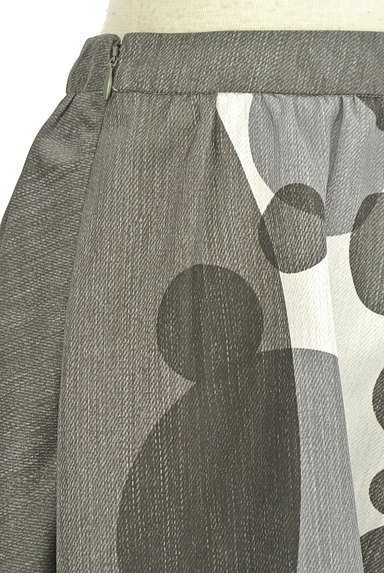 LAUTREAMONT(ロートレアモン)の古着「ドット柄膝丈フレアスカート(スカート)」大画像5へ