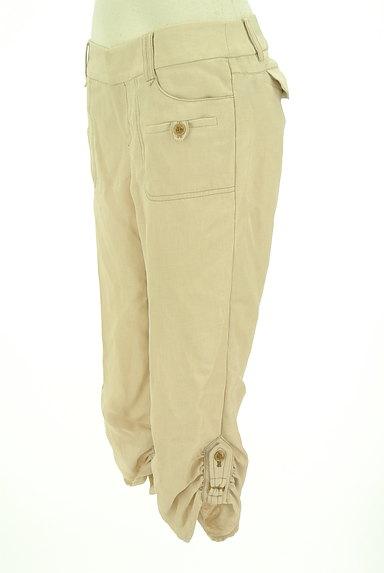 COMME CA(コムサ)の古着「裾ギャザークロップドパンツ(パンツ)」大画像3へ