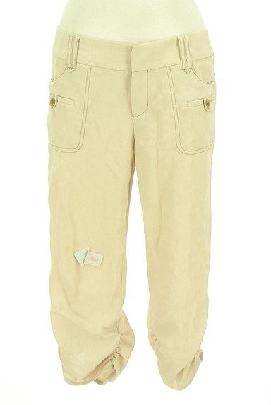COMME CA(コムサ)の古着「裾ギャザークロップドパンツ(パンツ)」大画像4へ