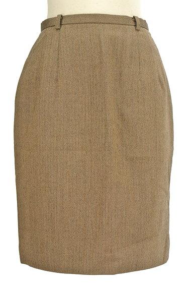 NEW YORKER(ニューヨーカー)の古着「ヘリンボーンタイト膝丈スカート(スカート)」大画像1へ