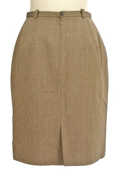 NEW YORKER(ニューヨーカー)の古着「ヘリンボーンタイト膝丈スカート(スカート)」大画像2へ
