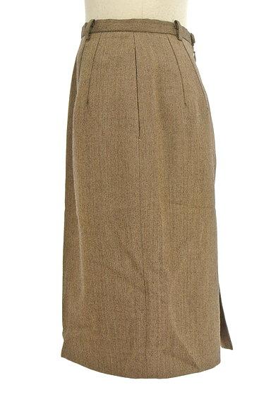 NEW YORKER(ニューヨーカー)の古着「ヘリンボーンタイト膝丈スカート(スカート)」大画像3へ