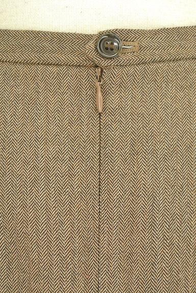 NEW YORKER(ニューヨーカー)の古着「ヘリンボーンタイト膝丈スカート(スカート)」大画像4へ