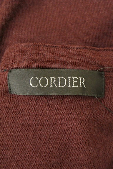 CORDIER(コルディア)の古着「装飾Vネックニット(ニット)」大画像6へ