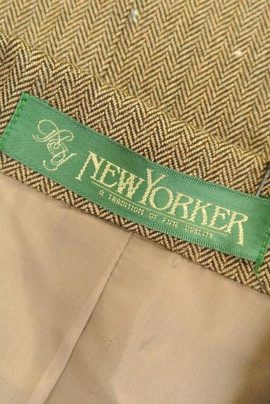NEW YORKER(ニューヨーカー)の古着「ヘリンボーン柄ジャケット(ジャケット)」大画像6へ
