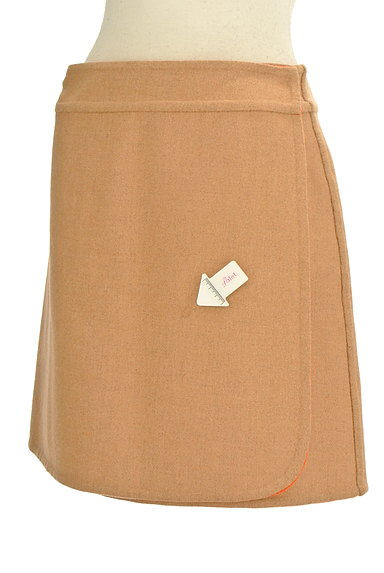 TOMORROWLAND(トゥモローランド)の古着「2カラーリバーシブルスカート(ミニスカート)」大画像4へ
