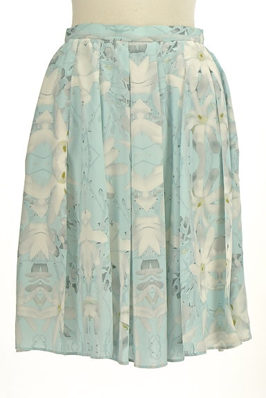 YLANG YLANG(イランイラン)の古着「花柄フレア膝丈スカート(スカート)」大画像1へ